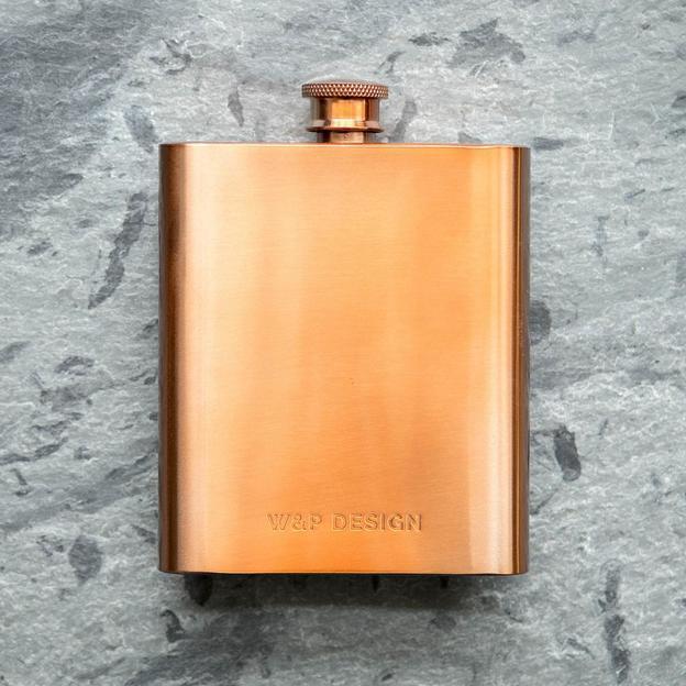 Copper Flask, Flachmann von W&P Design NYC