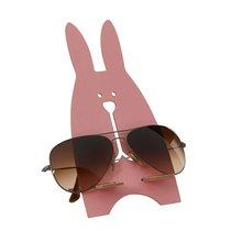 Porte-lunettes lapin, rose