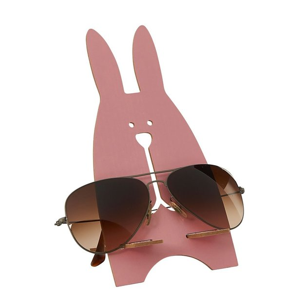 Brillenhalter Hase Rosa