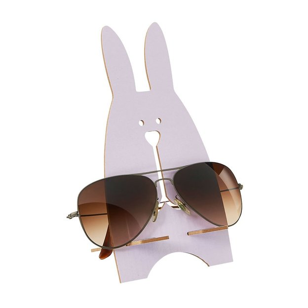Brillenhalter Hase Weiss