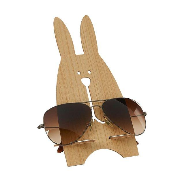 Brillenhalter Hase Holz