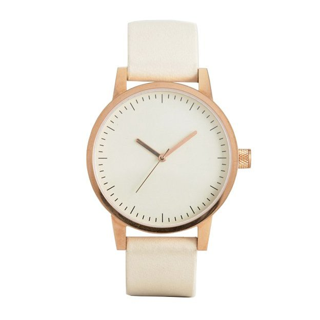 Armbanduhr Simple Watch Co. Kent 38mm Gold White