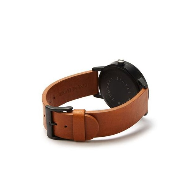 Simple Watch Co. Earl 42mm Tan Black White