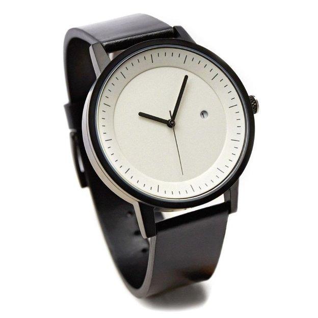 Armbanduhr Simple Watch Co. Earl 42mm Black White