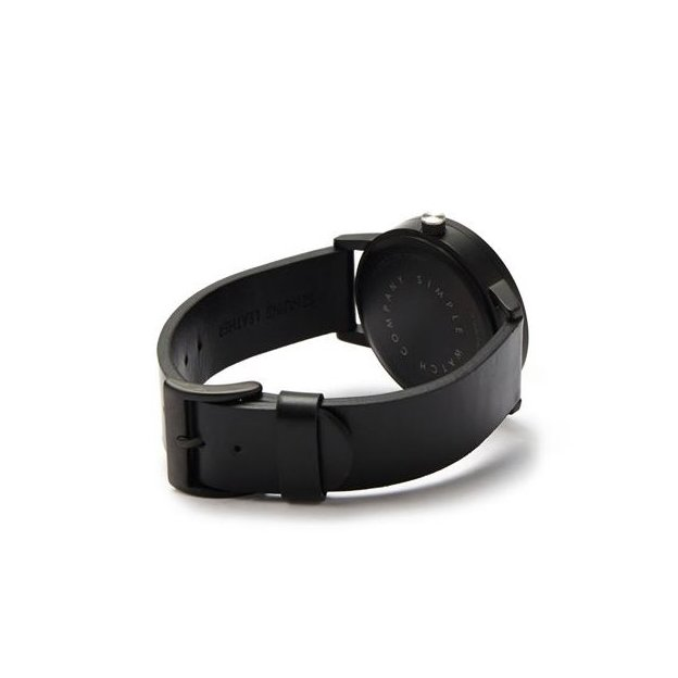 Armbanduhr Simple Watch Co. Earl 42mm Black White