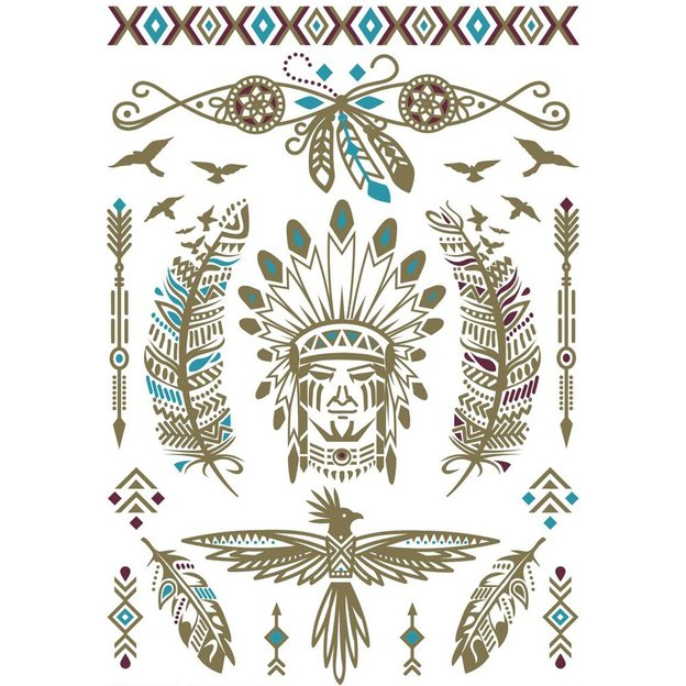 Flash Tattoos American Natives Vol. 2