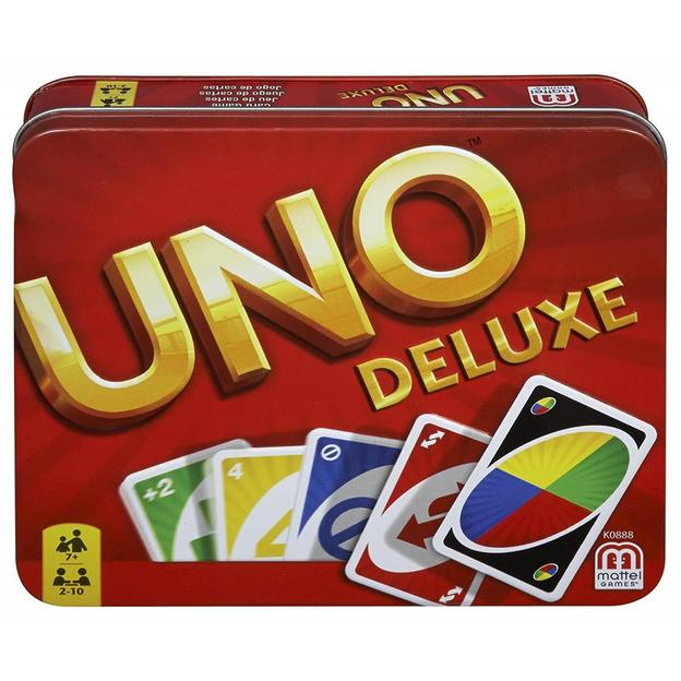 UNO Deluxe in Metalldose