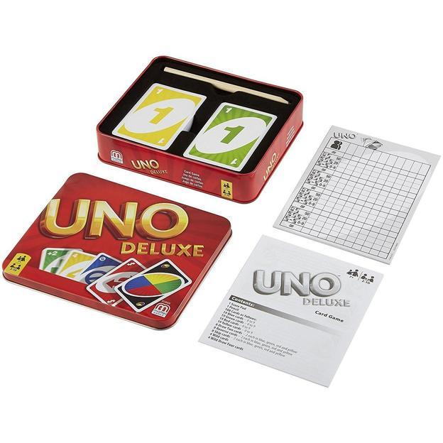 UNO Deluxe boîte métallique