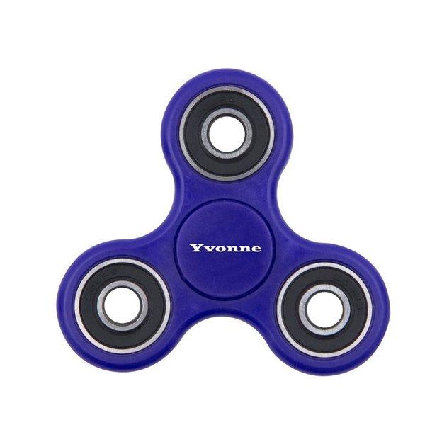 Fidget spinner bleu personnalisé