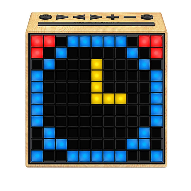 Divoom Timebox elfenbeinfarbig