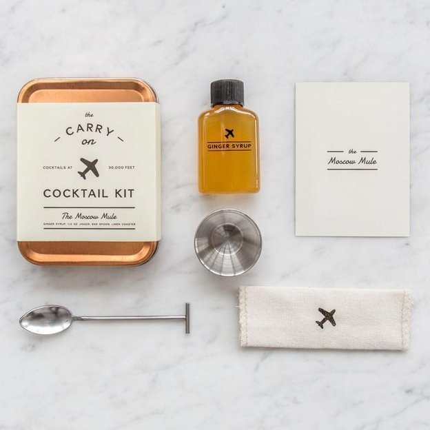 Carry On Cocktail Kit de W&P Design ''Moscow Mule''