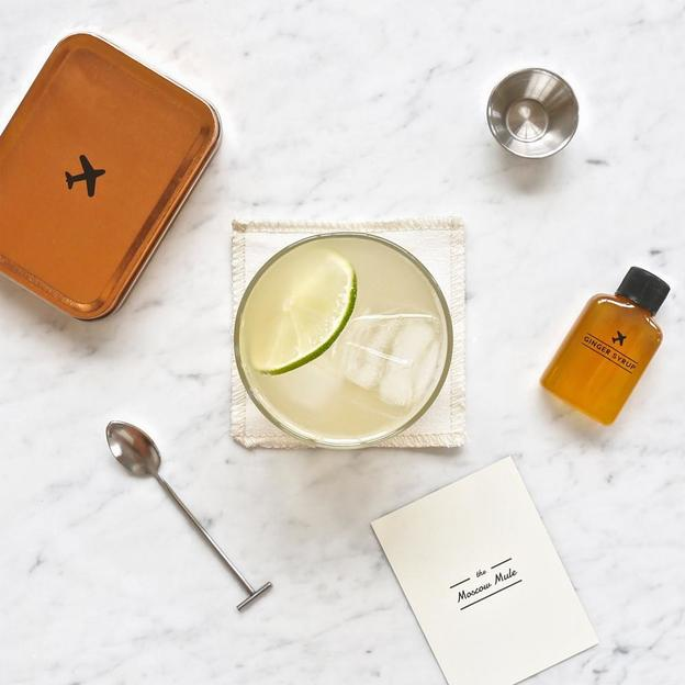 "Carry On Cocktail-Set von W&P Design NYC ""The Moscow Mule"""