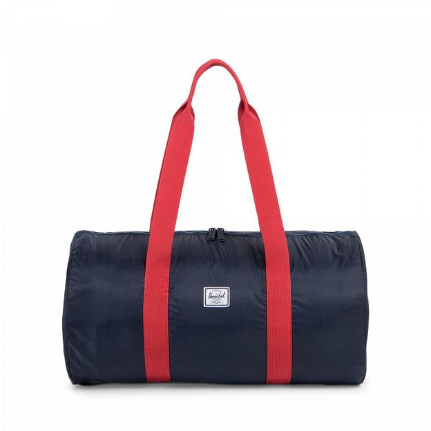 Herschel Duffle Navy red