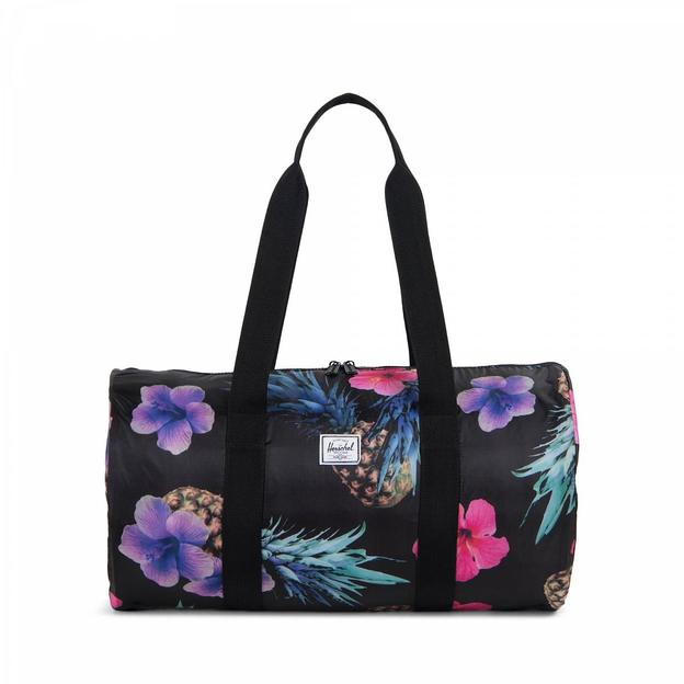 Herschel Duffle Black Pineapple