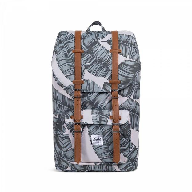 Herschel Rucksack Little America Silver Birch Palm/Tan