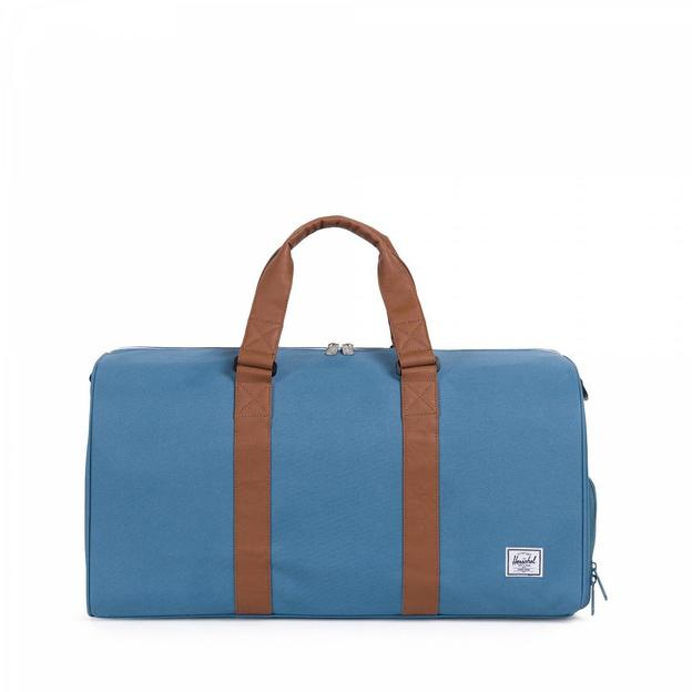Herschel Weekender Novel Mid-Volume Aegean blue/Tan
