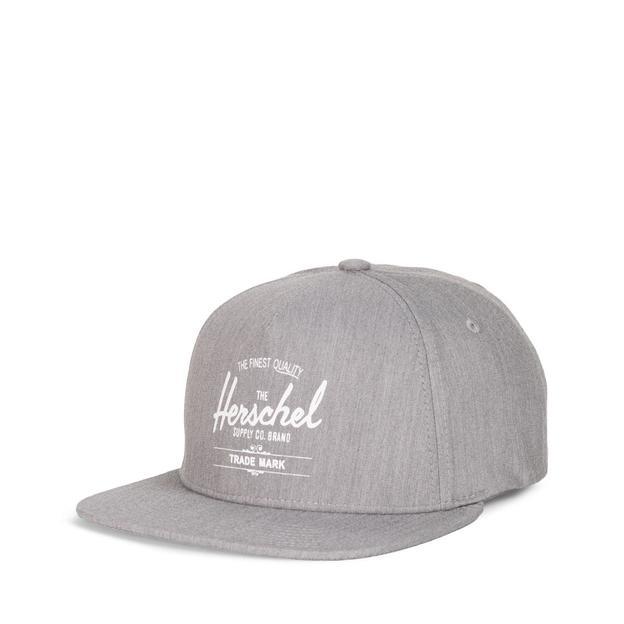 Herschel Cap Whaler Heathered grey