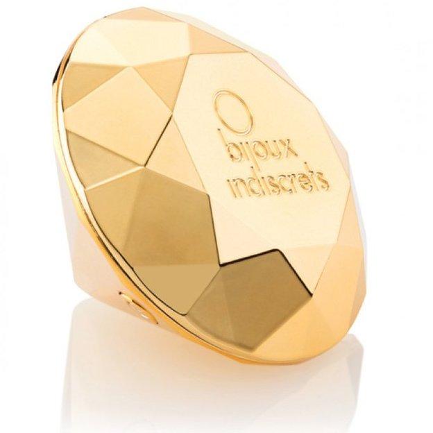 Twenty One vibrierender Diamant in edler Schmuckschatulle