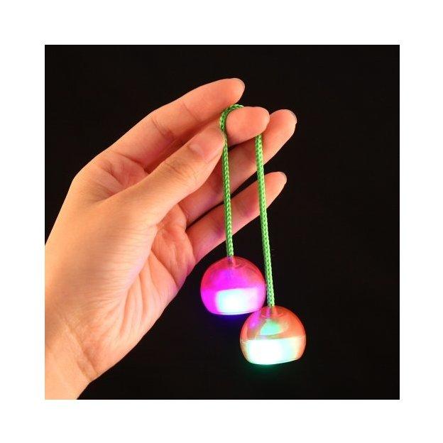 Finger Balls mit LED-Leuchten