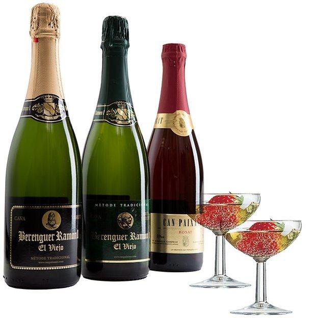 CavaCava Allstars - Vins mousseux top 3 avec 2 verres