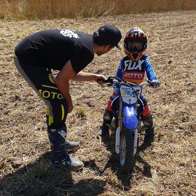 1 Tag Motocross fahren für Kinder mit Vize-Schweizermeister