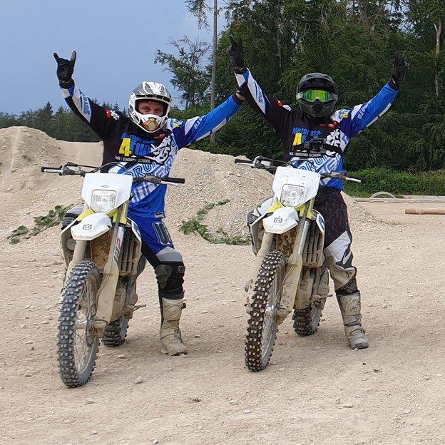 1 Tag Motocross fahren mit Vice-Schweizermeister