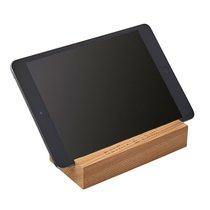 Personalisierbarer Bloomingville Smartphone Tablet Halter aus Holz