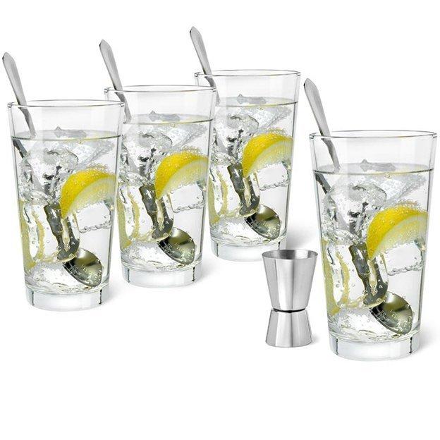 Leopold Vienna Gin Tonic Set, 9-teilig