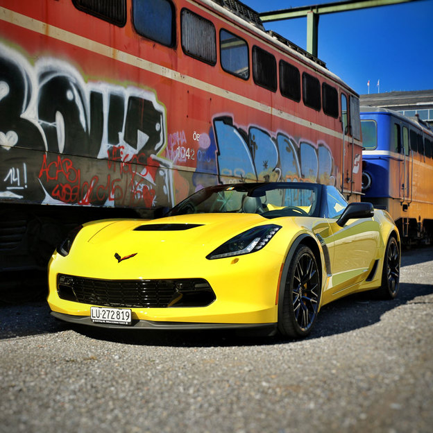 Chevrolet Corvette C7 Miete für 6 Stunden