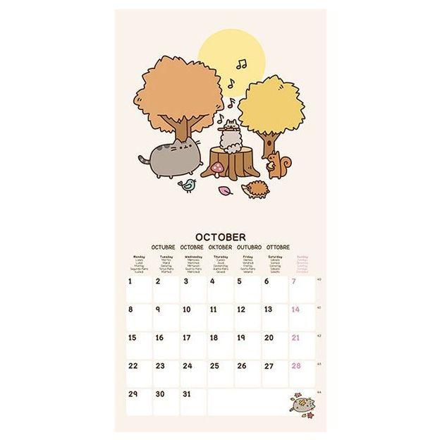 Pusheen The Cat Kalender 2018