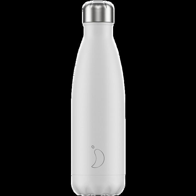 Chilly's Bottles, Trinkflasche-Weiss-Standard-500ml