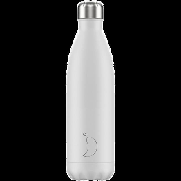 Chilly's Bottles, Trinkflasche-Weiss-Standard-750ml