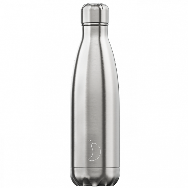 Chilly's Bottle, argent, standard, 500 ml