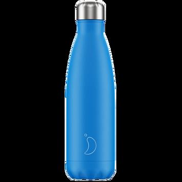 Weihnachtsgeschenke Haushalt.Chilly S Bottles Trinkflasche Blau Neon Standard 500ml