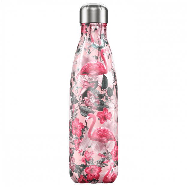 Chilly's Bottles, Trinkflasche-Flamingo Pink-Limitiert-500ml
