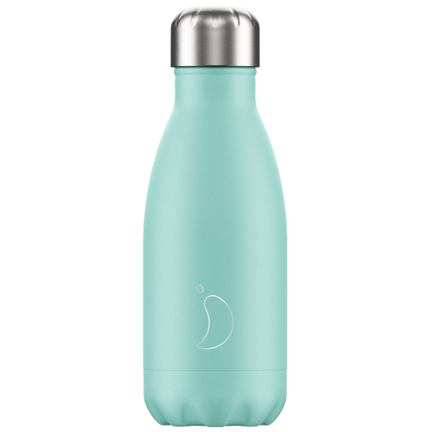 Chilly's Bottle, vert pastel, standard, 260 ml