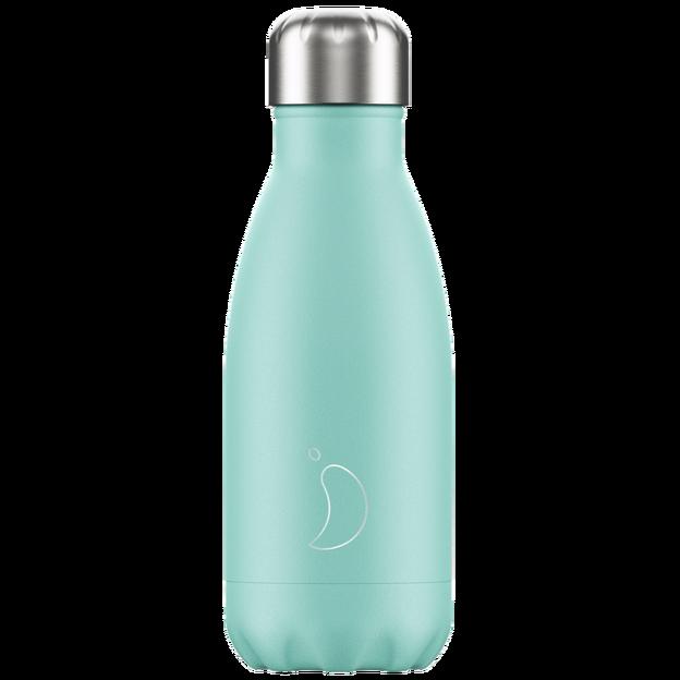 Chilly's Bottles, Trinkflasche-Grün Pastell-Standard-260ml