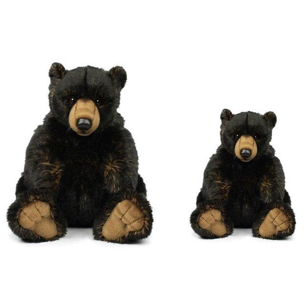 Peluche Ours noir WWF 23 ou 32 cm