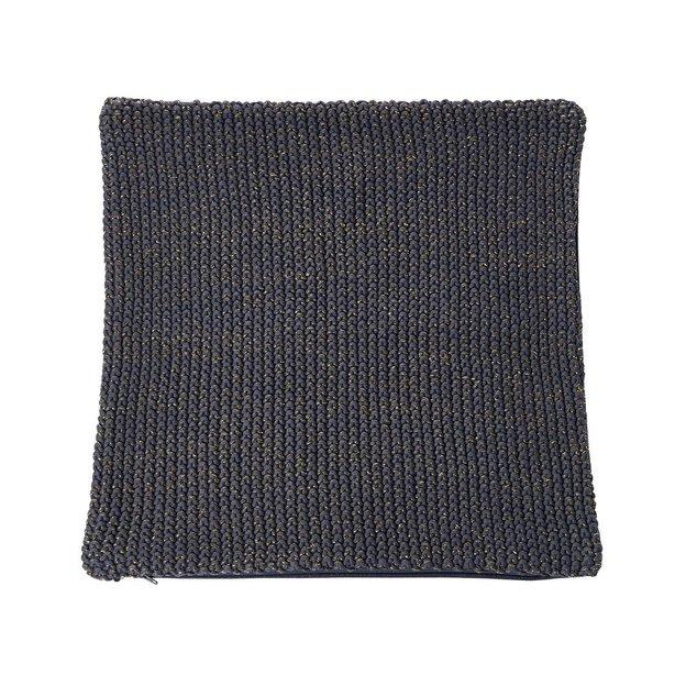 Housse de coussin en tricot