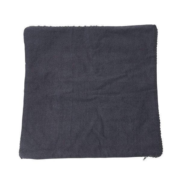 Kissenhülle Baumwolle gestrickt