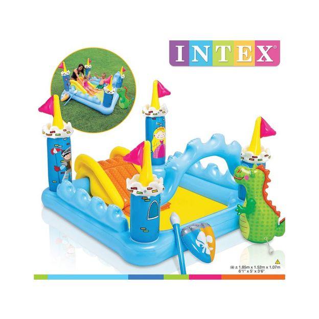 Intex Wasser-Spielplatz Schloss Mehrfarbig