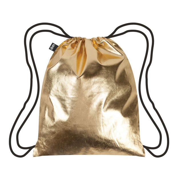Rucksack Turnbeutel Metallic Gold
