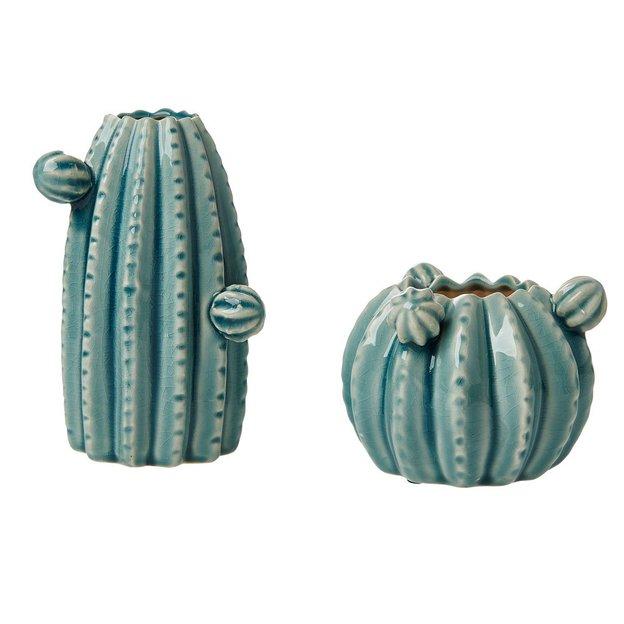Vasen Kaktus 2er Set