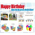 Party Deko Set 83-teilig - Happy Birthday Box