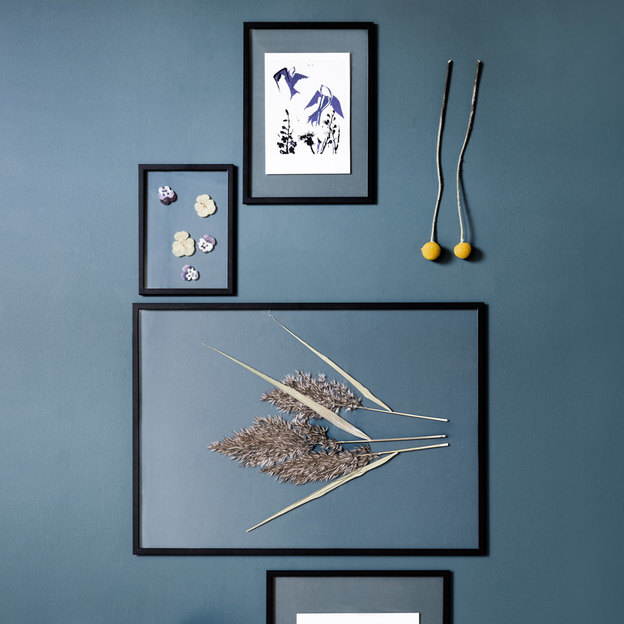 bilderrahmen frame von moebe a5 schwarz. Black Bedroom Furniture Sets. Home Design Ideas