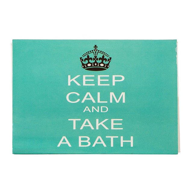 Bade-Kugeln 6 Stk. Keep Calm & Take a Bath