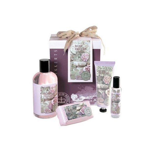 Luxuriöses Geschenkset Rose Figuier