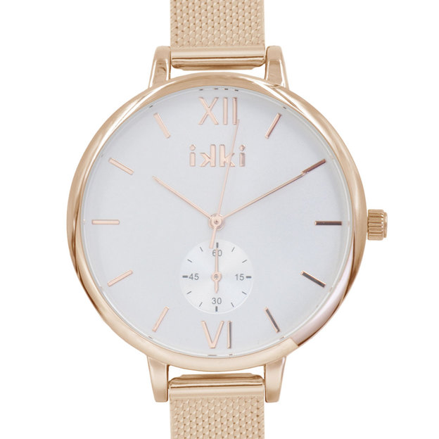 Ikki Damenuhr Estelle 38mm rosé