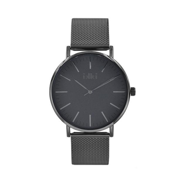 Ikki Armbanduhr Danny 41mm schwarz