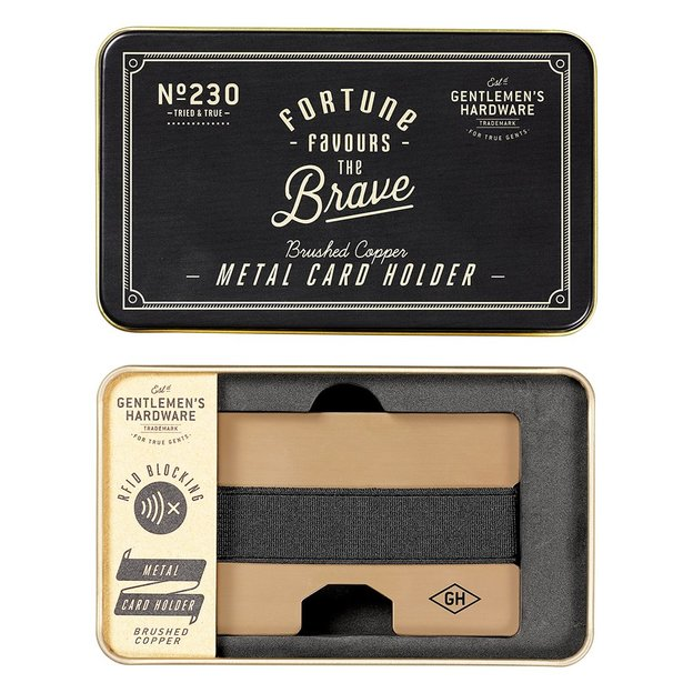 Kartenhalter aus Kupfer von Gentlemen's Hardware